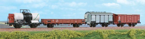 ACME 45106  Set of four goods wagons, FS