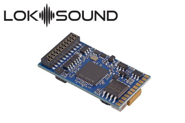 ESU 58419  LokSound 5 DCC/MM/SX/M4 no loaded sound, 21MTC NEM6660, w/speaker