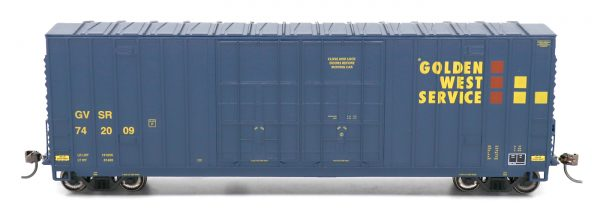 InterMountain Railway 4134002-06  Gunderson 50' Hi-Cube Box, Golden West