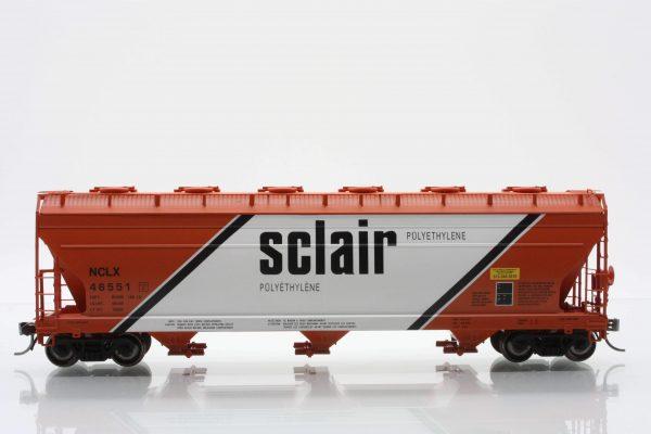 InterMountain Railway 47020-24  Sclair  ACF 4650 Cu. Ft. 3-Bay Hopper