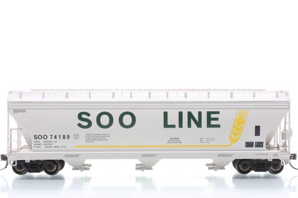 InterMountain Railway 47056-18  SOO LINE  ACF 4650 Cu. Ft. 3-Bay Hopper
