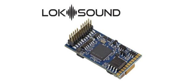 ESU 58412  LokSound 5 DCC/MM/SX/M4 no loaded sound, PluX22, w/speaker