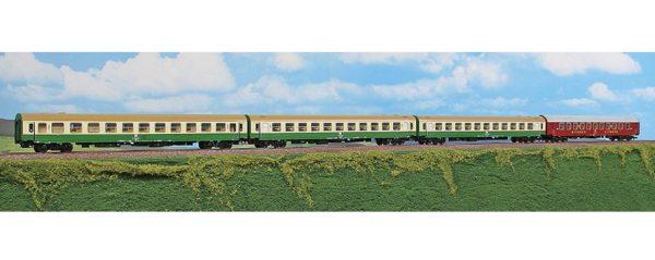 "ACME 55162  4 Piece Passenger set ""SPREE-ALPEN-EXPRESS"", DR"