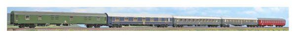 "ACME 55243   4 Piece passenger set ""ITALIA EXPRESS"", DB"
