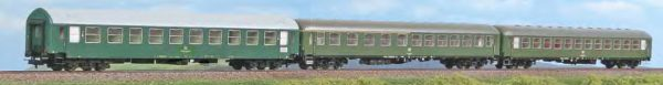 "ACME 55244  3 Piece Passenger Set ""ITALIA EXPRESS"", DB/DR"