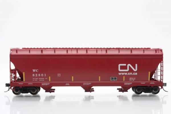 InterMountain Railway 47091-06  Wisconsin Central - CN  ACF 4650 Cu. Ft. 3-Bay Hopper