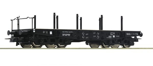 Roco 46385  Heavy duty flat wagon, DRG