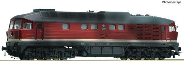 Roco 58499  Diesel locomotive 132 285-8, DR (AC Digital w/Sound)
