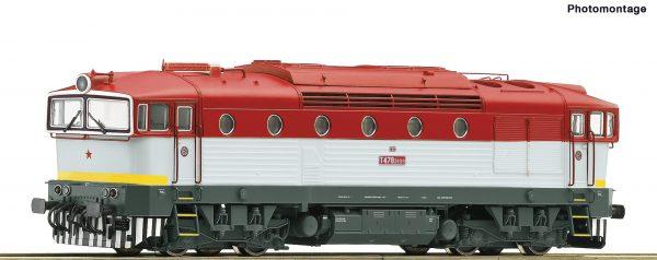 Roco 72053  Diesel locomotive T 478.3109, ZSSK (DCC w/Sound)