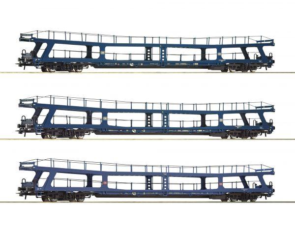 "Roco 74097  3 piece set 3: Auto-train ""Christoforus-Express"", DB"