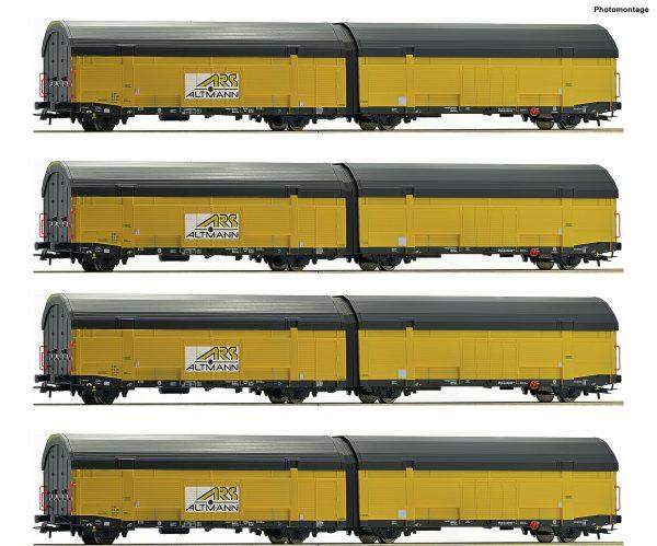 Roco 75881  4 piece set car tranport carriages, ARS Altmann