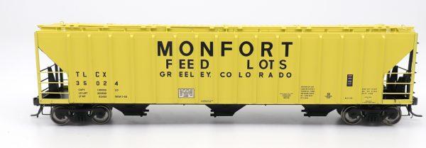 InterMountain Railway 472212-01 4785 PS2-CD Covered Hopper, Monfort
