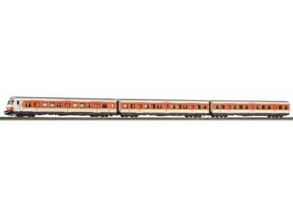 Piko 58388  3 Car set S-Bahn Passenger X-wagons, DB