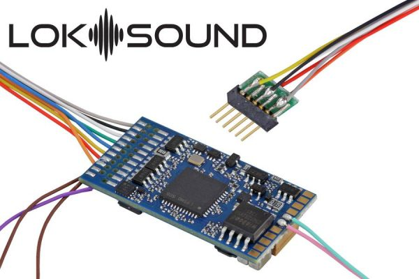 ESU 58416  LokSound 5 DCC/MM/SX/M4 no loaded sound, 6-pin NEM651, w/speaker