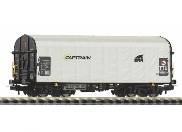 "Piko 58964  Sliding Tarp Wagon ""CAPTRAIN"""