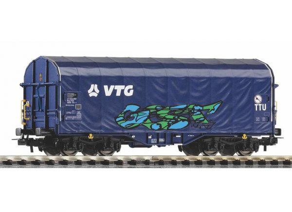 """Piko 58965  Sliding Tarp Wagon w/graffiti  """"VTG"""""""
