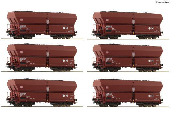 Roco 75894  12-piece self unloading hopper wagons, DB AG
