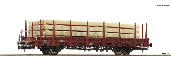 Fleischmann 825730  Stake wagon, DB
