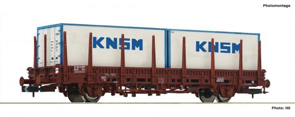 Fleischmann 825734  Stake wagon, NS