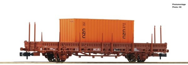 Fleischmann 825736  Swivel stake wagon, SNCF