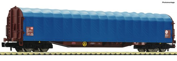 Fleischmann 837709  Sliding tarpaulin wagon , DB