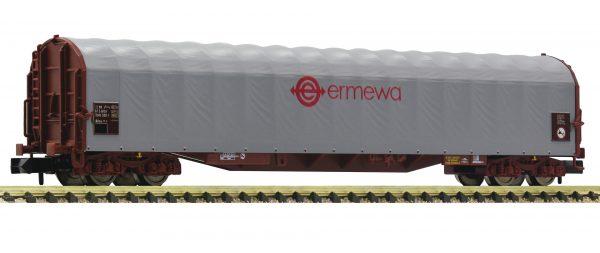 Fleischmann 837710  Sliding tarpaulin wagon, ERMEWA