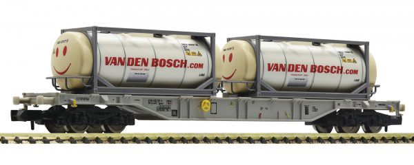 Fleischmann 825211  Container carrier wagon with tank containers, AAE