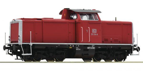 Roco 52524  Diesel Locomotive class 212, DB AG