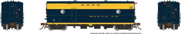 Rapido Trains 107301 Steam Heater Car Santa Fe (ATSF)