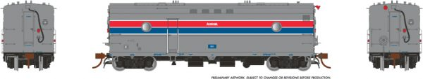 Rapido Trains 107306 Steam Heater Car Amtrak PH II