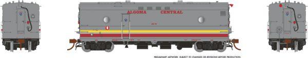 Rapido Trains 107309 Steam Heater Car Algoma Central