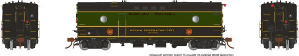 Rapido Trains 107314 Steam Heater Car Canadian National 1954