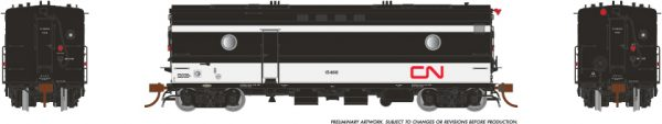 Rapido Trains 107315 Steam Heater Car CN Rail (Wet Noodle Scheme)