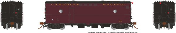 Rapido Trains 107322 Steam Heater Car Canadian Pacific