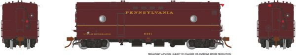 Rapido Trains 107349 Steam Heater Car Pennsylvania