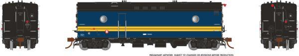 Rapido Trains 107359 Steam Heater Car VIA Rail Canada