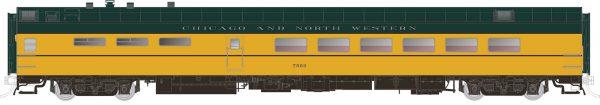 Rapido Trains 124021  Pullman-Standard Lightweight Dining Car C & NW