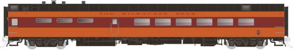 Rapido Trains 124028  Pullman-Standard Lightweight Dining Car Milwaukee Road (Hiawatha)