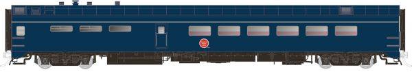 Rapido Trains 124039  Pullman-Standard Lightweight Dining Car Missouri Pacific (Jenks Blue)