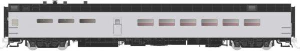Rapido Trains 124061  Pullman-Standard Lightweight Dining Car Undecorated