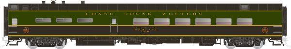 Rapido Trains 124062  Pullman-Standard Lightweight Dining Car Grand Trunk Western