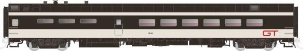 Rapido Trains 124063  Pullman-Standard Lightweight Dining Car GTW