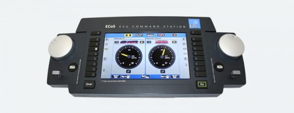 "ESU 50210 ECoS 2.1 Command Station, 6A, 7"" TFT colour display, MM/DCC/SX/M4, set w. power supply"