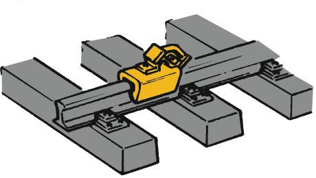 Roco 40004 Stop blocks/brake shoes H0