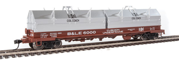 Walthers Proto 105211  50' Evans Cushion Coil Car, Bessemer & Lake Erie