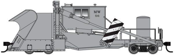 Walthers Proto 110124  Jordan Spreader, Maintenance of Way
