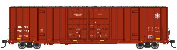 Walthers Mainline 2961   60' High-Cube Plate F Boxcar, BNSF