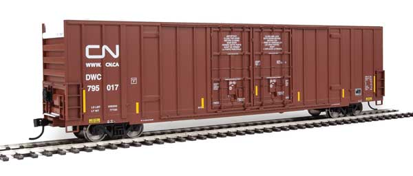 Walthers Mainline 2963   60' High-Cube Plate F Boxcar, CN