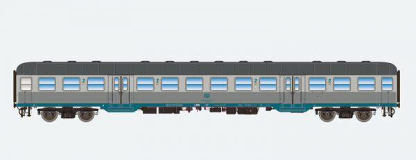 ESU 36483   2nd class passenger coach, DB