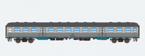 ESU 36484   2nd class passenger coach, DB